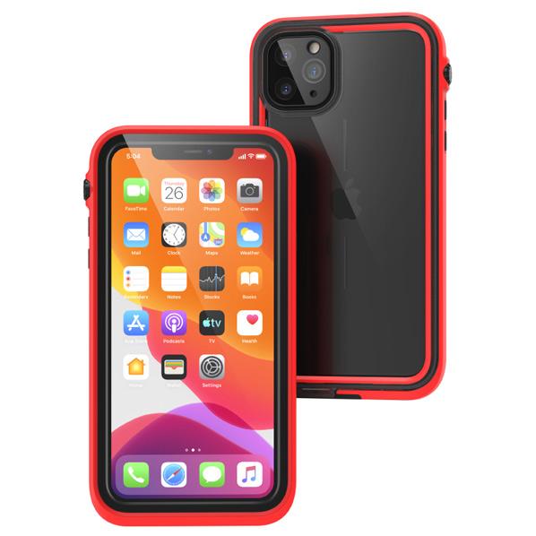 トリニティ iPhone 11 Pro Max用防水・耐衝撃ケース カタリスト レッド CT-WPIP19L-RD [CTWPIP19LRD]
