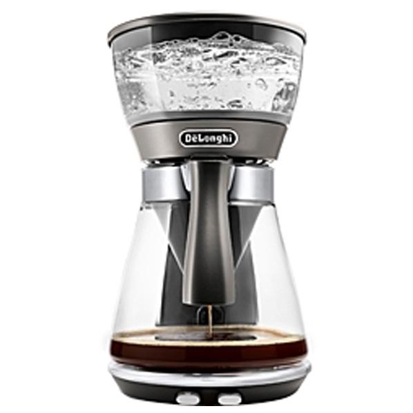 あんしん延長保証対象 アイスコーヒーモード 搭載の革新的ドリップコーヒーメーカー デロンギ ドリップコーヒーメーカー マーケティング RNH シルバー ICM17270J クレシドラ 店内限界値引き中&セルフラッピング無料