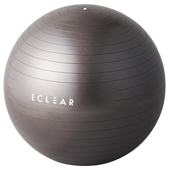 インテリアに馴染むカラーリングで ハードなトレーニングにも耐える耐荷重500kgのバランスボール エレコム バランスボール HCF-BB55BK 55cm ブラック 商い 公式サイト HCFBB55BK