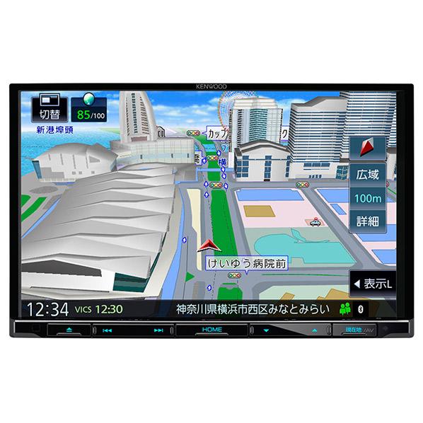 JVCケンウッド 8V型 DVD/USB/SD AVナビゲーション MDV-S707L [MDVS707L]