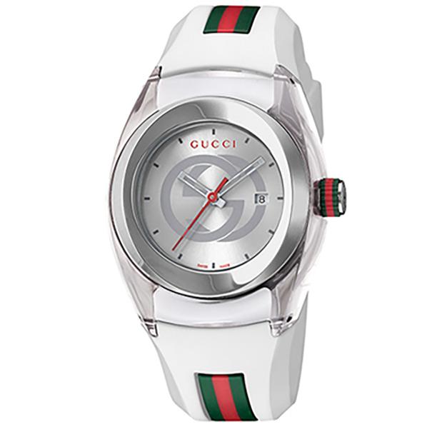 グッチ 腕時計 SYNC シルバー YA137302 [YA137302]
