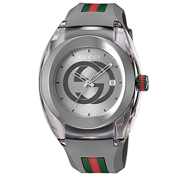 グッチ 腕時計 SYNC グレー YA137109A [YA137109A]