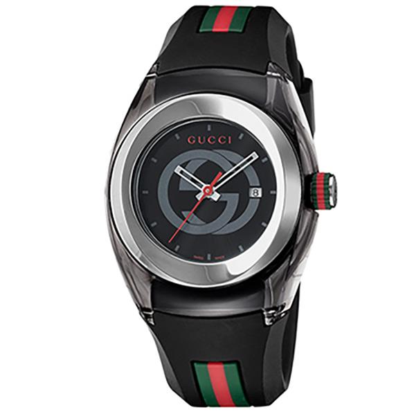 グッチ 腕時計 SYNC ブラック YA137301 [YA137301]