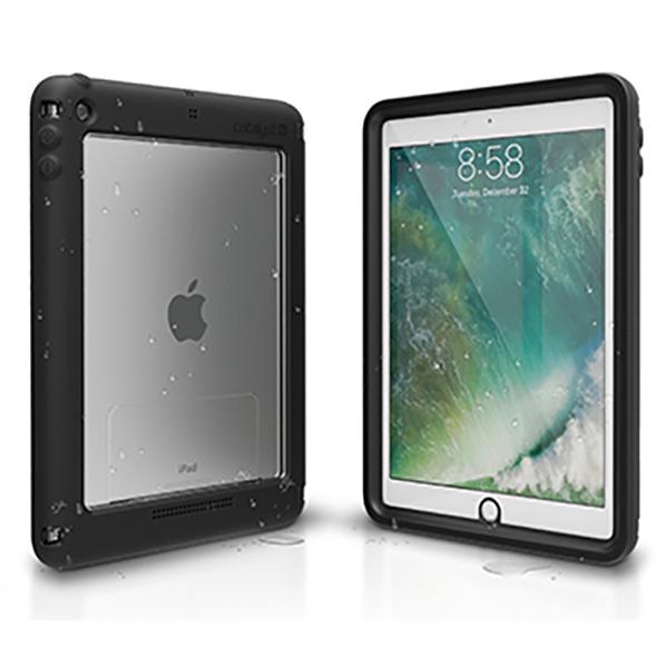 トリニティ iPad(9.7inch・2018/2017年発売モデル)用防水ケース カタリスト ブラック CT-WPIPDP17-BK [CTWPIPDP17BK]
