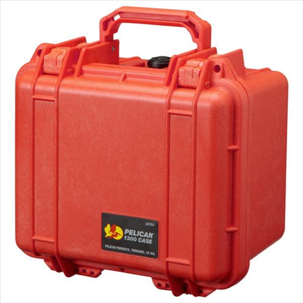 PELICAN 小型防水ハードケース 1300HK オレンジ 1300HKOR [1300HKOR]