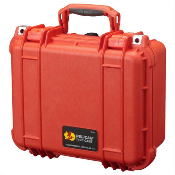 PELICAN 小型防水ハードケース 1400HK オレンジ 1400HKOR [1400HKOR]
