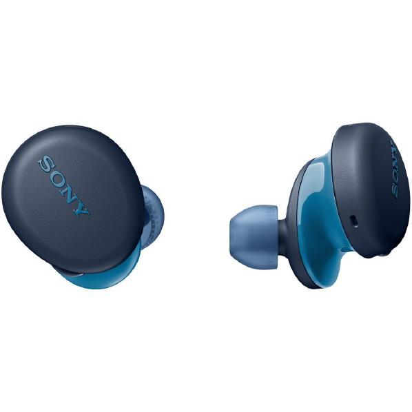 SONY ワイヤレスステレオヘッドセット ブルー WFXB700L [WFXB700L]【RNH】