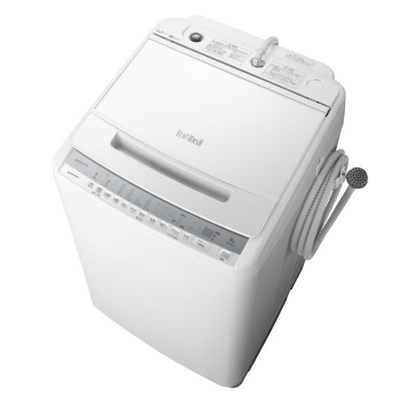 BW-V80F 8.0kg全自動洗濯機 [BWV80FW]【RNH】 ホワイト W 日立 ビートウォッシュ