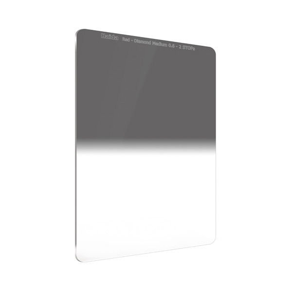 HAIDA レッドダイヤモンド ミディアムグラデーション ND0.6 フィルター(100×150mm) RDダイヤ100ミディアムGRDND0.6 [RDダイヤ100ミデイアムGRDND0.6]【JNSP】