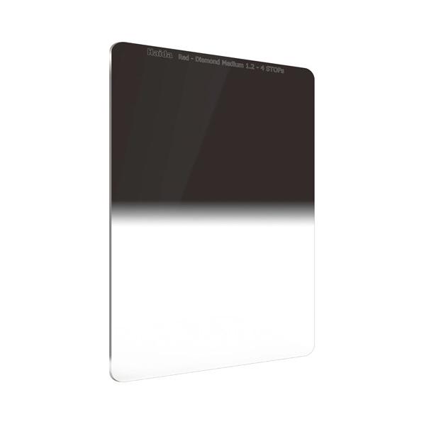 HAIDA レッドダイヤモンド ミディアムグラデーション ND1.2 フィルター(100×150mm) RDダイヤ100ミディアムGRDND1.2 [RDダイヤ100ミデイアムGRDND1.2]【JNSP】