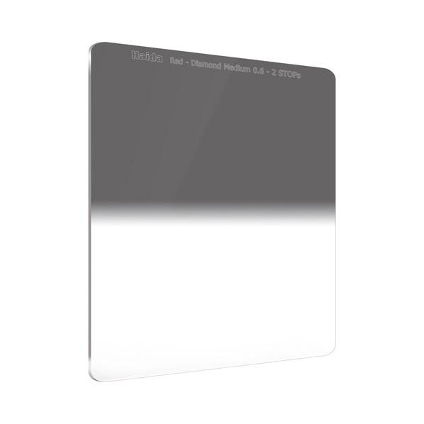HAIDA レッドダイヤモンド ミディアムグラデーション ND0.6 フィルター (150×170mm) RDダイヤ150ミディアムGRDND0.6 [RDダイヤ150ミデイアムGRDND0.6]