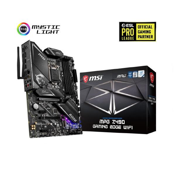 多彩な機能を備えたATXマザーボード お得セット 無料サンプルOK MSI ATX対応マザーボード MPG Z490 FMPP MPGZ490GAMINGEDGEWIFI GAMING WIFI EDGE
