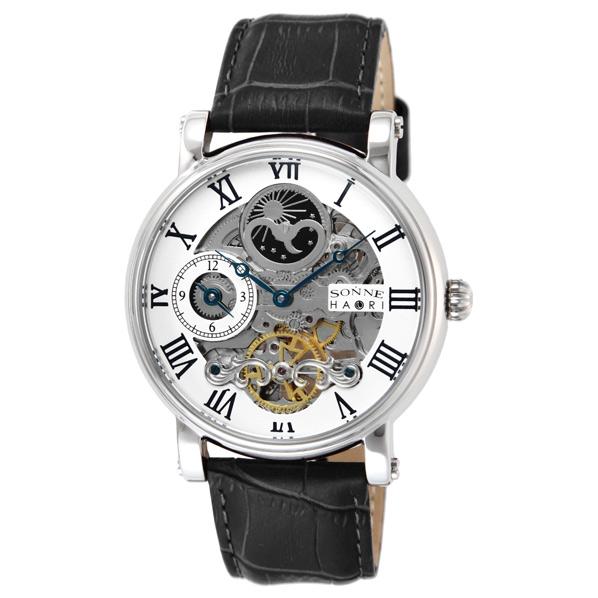 驚きの値段で ゾンネ 腕時計 H013 シルバー H013SV [H013SV]【SPPS】, ニマチョウ 673a7ecb