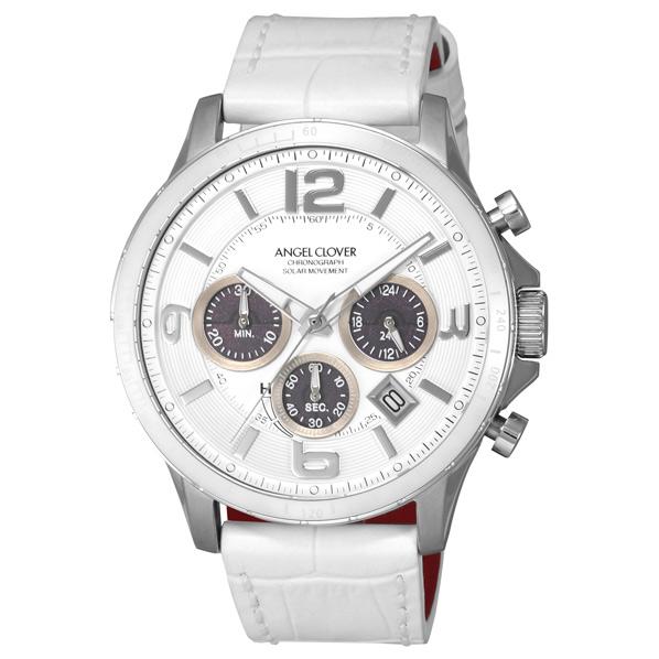 エンジェルクローバーは お金を節約 遊び心ある''スタイル''を提唱するファッションウォッチブランド エンジェルクローバー 腕時計 タイムクラフトソーラー TCS44SWH-WH WPP TCS44SWHWH ホワイト 大規模セール