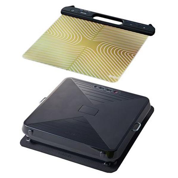 EMS×振動の最新メソッドでよりパワフルな全身エクササイズを実現 倉 アテックス EMSシート プラス+シェイプアップボードセット FMPP ルルドスタイル 特別セール品 AXFRL910 AX-FRL910