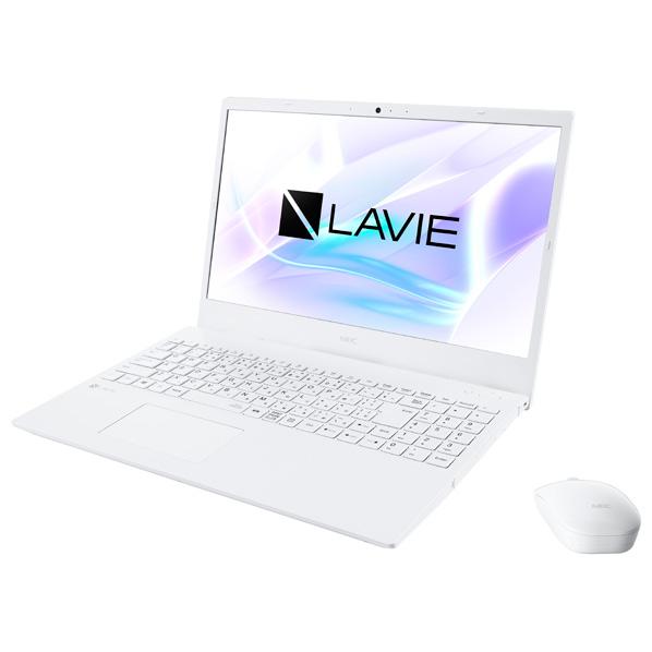 あんしん延長保証対象 メーカー3年保証 NEC ノートパソコン KuaL LAVIE N15 PC-N1565AAW-E3 パールホワイト RNH PCN1565AAWE3 お気にいる 大人気 WPP