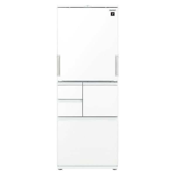 SJAW50GW プラズマクラスター冷蔵庫 ピュアホワイト シャープ 5ドアノンフロン冷蔵庫 502L [SJAW50GW]【RNH】