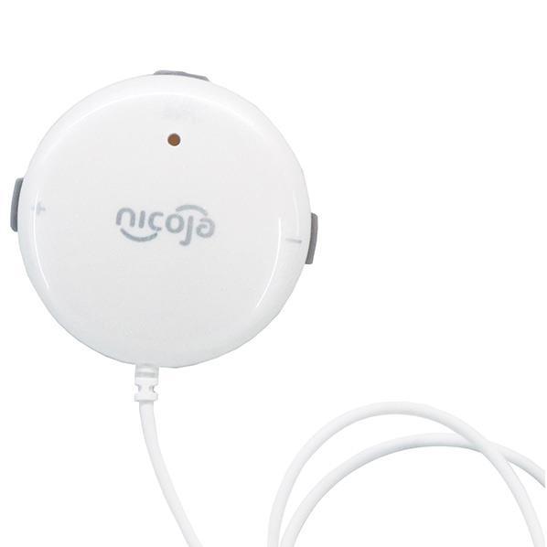 スマート本で簡単に操作 激安 至高 日光精器 家庭用低周波治療器 パールホワイト W SSPT NK5020W NK5020