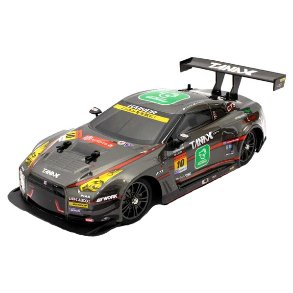 スリリングなドリフト走行を決めろ そして レーシングなグリップ走行を魅せろ 京商 R C 1 安全 16 スピード対応 全国送料無料 ドリフトレーシングGAINER a GT-R TANAX triple TS062 4WD 16ドリフトGAINERTANAXXGTRクロ 黒