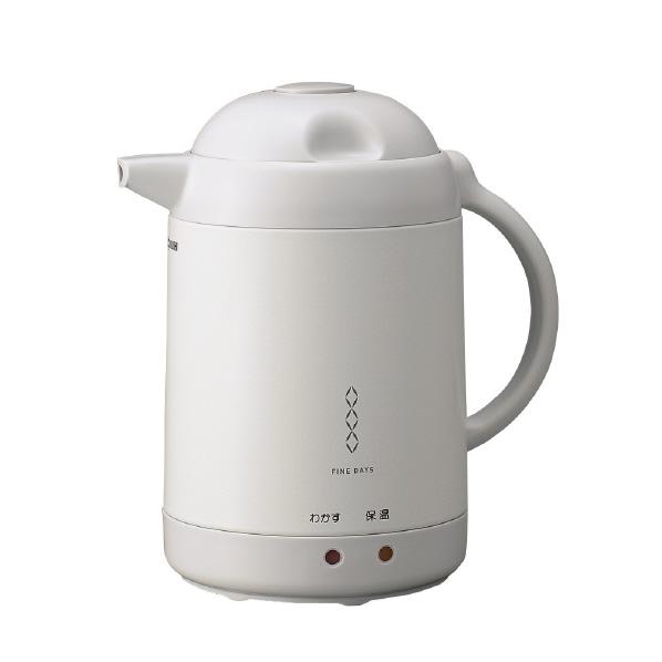 贈答品 あんしん延長保証対象 沸かして保温 沸とうしません 象印 電気ポット ホワイトグレー 大人気 CH-CE10-WG CHCE10WG 1.0L RNH