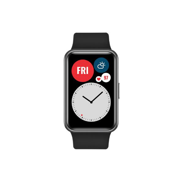 Huawei WATCH FIT Graphite Black WATCH FIT/BK [WATCHFITBK]【SPPS】