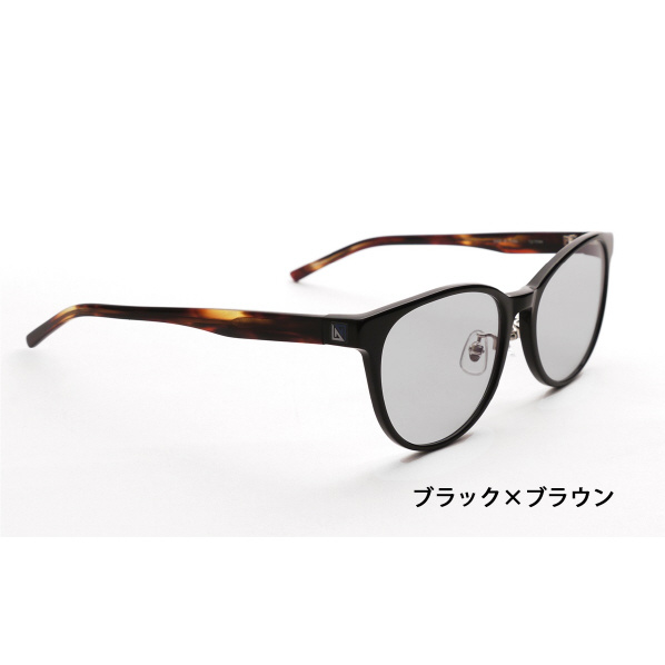 ニデック G-SQUARE アイウェア Casual Model ユニセックスタイプ セルフレーム/Black×Brown レンズ/Gray C2FGEF4SBNP4120 [C2FGEF4SBNP4120]