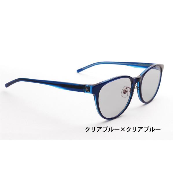 ニデック G-SQUARE アイウェア Casual Model ユニセックスタイプ セルフレーム/ClearBlue-ClearBlue レンズ/Gray C2FGEF4SDNP4182 [C2FGEF4SDNP4182]