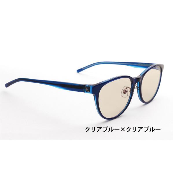 ニデック G-SQUARE アイウェア Casual Model ユニセックスタイプ セルフレーム/ClearBlue-ClearBlue レンズ/Brown C2FGEF4SDNP4205 [C2FGEF4SDNP4205]