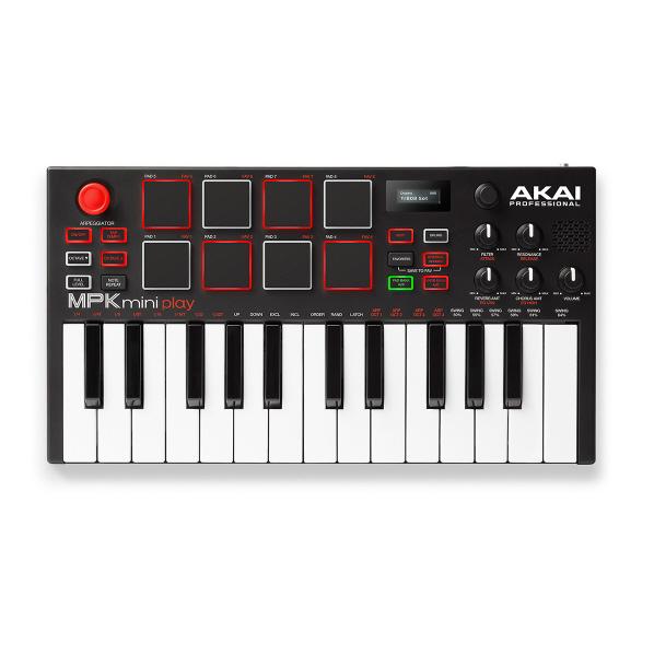 AKAI キーボードコントローラー MPK Mini Play AP-CON-043 [APCON043]【SPPS】