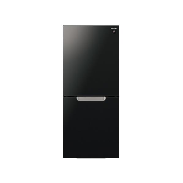 <title>あんしん延長保証対象 つけかえどっちもドア シャープ 152L 2ドアノンフロン冷蔵庫 正規認証品!新規格 ピュアブラック SJGD15GB RNH WPP</title>