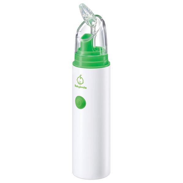 電動タイプの鼻水吸引器でらくらくスッキリ SEASTAR 限定品 電動鼻水吸引器 ベビースマイル ホワイト 百貨店 S-303NP S303NP