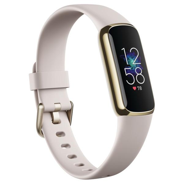 限定価格セール Fitbit 史上最もファッショナブルな健康管理トラッカーが登場 フィットネストラッカー L Sサイズ FB422GLWTFRCJK 送料無料(一部地域を除く) ソフトゴールド ルナホワイト FB422GLWT-FRCJK Luxe