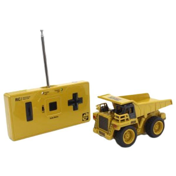 ABS素材のリアルディティールな建機をシンプルな操作で気軽に遊ぶことができます 直輸入品激安 京商 R Cミニ建設機械 最安値 ダンプトラック ミニケンセツキカイダンプトラツク
