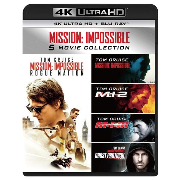 ミッション シリーズ5作品を収録した4K ULTRA HD+Blu-rayセットが登場 NBCユニバーサル エンターテイメント ミッション:インポッシブル 5 ムービー PJXF1162 HD PJXF-1162 + Blu-ray コレクション 人気ブランド お洒落 Blu-rayセット 4K
