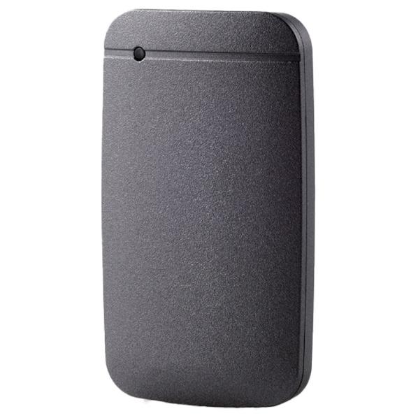 タイムセール SurfaceやMacBookでもすぐに使えるUSB Type-C TM ケーブル付き エレコム 外付けポータブルSSD ESDEFA0500GBKR スーパーセール ESD-EFA0500GBKR 500GB ブラック