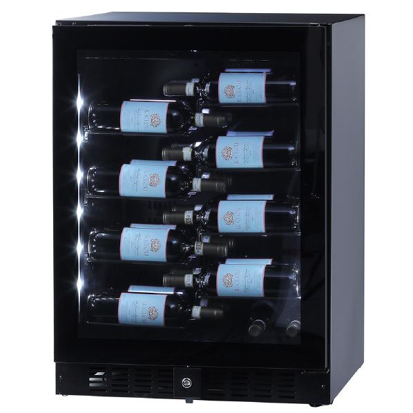 人気急上昇 メーカー再生品 右開き ワインが主役になるディスプレイセラー funVino ワインセラー ブラック BU138NAR BU-138NA-R 40本収納