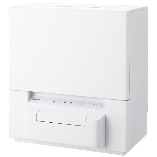 分岐水栓の取り付けなしで使えるタンク式 買ってすぐに使えるスリム食洗機 数量は多 買い取り パナソニック 食器洗い乾燥機 NPTSP1W NP-TSP1-W ホワイト