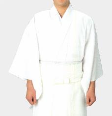 夏用 神職用白衣(テト麻)S・M・L・LL寸