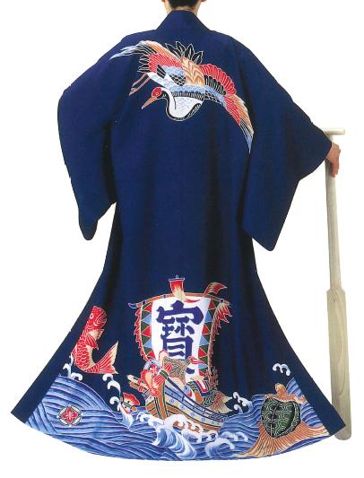 万祝い[万祝 萬祝い まいわい]鶴亀・宝船・鯛