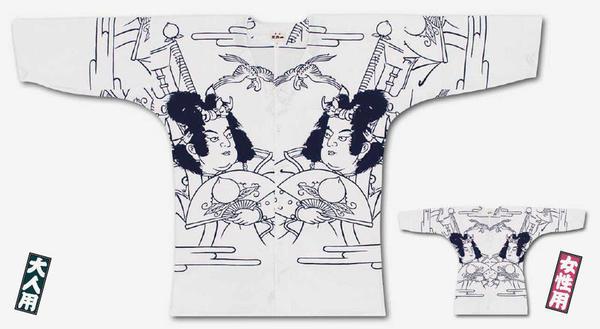 <メール便対応>東京江戸一鯉口シャツ【手拭‐桃太郎】大人用【小・中・大】女性用【小・中・大】[鯉口 シャツ こいくち 祭 衣装 ダボ 居酒屋 ユニフォーム 男性 女性 えどいち]