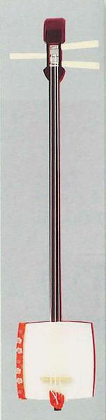 三味線 (踊り稽古用) 二本継ぎ[ 日舞 囃子 神楽 雅楽 民謡 歌舞伎 地方 祭り たいこ 和楽器 舞台用 小道具 Ts3226-w17872 ]