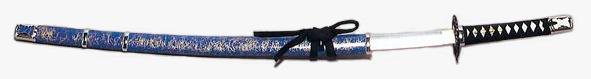 侠客刀 (長脇差し) 踊り用日本刀 全長約90cm[ 刀 刀剣 日本刀 模擬刀 模造刀 舞台用 小道具 アルミ Ts3209 ]