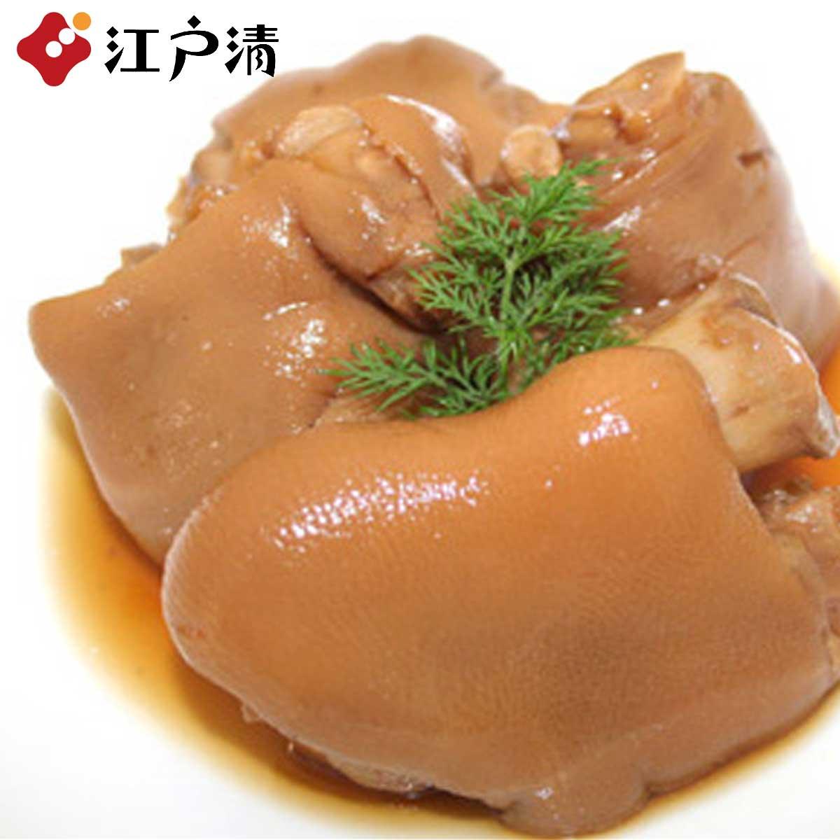杜中高麗豚の豚足 創業明治27年 購買 横浜中華街の老舗 世代を超えて愛されるブタまん屋 迅速な対応で商品をお届け致します 江戸清 7000円以上購入で送料無料 とろける食感