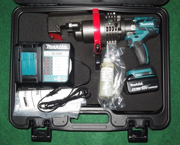 マキタ SC192DRG 18V-19mm充電式鉄筋カッタ 携帯油圧式 BLモ-タ搭載 新品 作業量・切断速度アップ