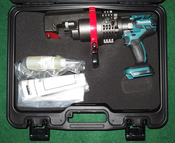 マキタ SC192DZK 18V-19mm充電式鉄筋カッタ 携帯油圧式 BLモ-タ搭載 本体のみ+ケ-ス バッテリ・充電器別売 新品 作業量・切断速度アップ