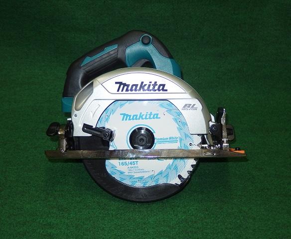 マキタ HS611DZ 18V-165mm充電式BLマルノコ 最大切込み深さ57mm 無線連動対応 サメ肌チップソー付 コンパクトモデル 青 本体のみ バッテリ・充電器別売 新品