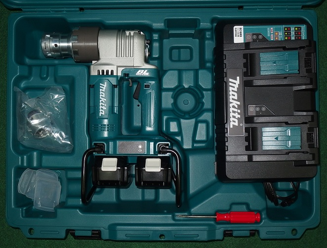 マキタ WT310DPG2 18Vx2=36V充電式シャ-レンチ 新品