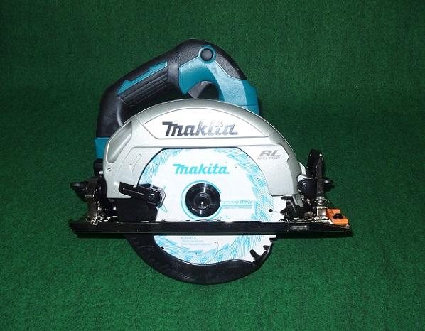 マキタ HS610DRGX 18V-6.0Ah-165mm充電式BLマルノコ 最大切込み深さ57mm サメ肌チップソー付 コンパクトモデル 青 新品
