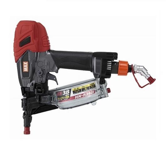 マックス HN-R38D1 プラシ-ト専用高圧釘打機 新品 HNR38D1