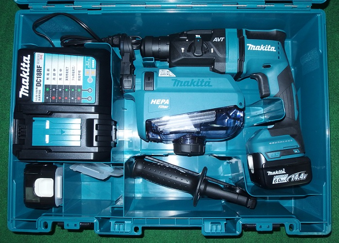 マキタ HR181DRGXV 14.4V-6.0Ah-18mm 無線連動対応 吸塵ハンマドリル 青 新品